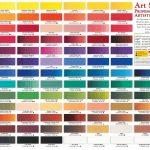 Art Spectrum Artist Oil Colour Chart