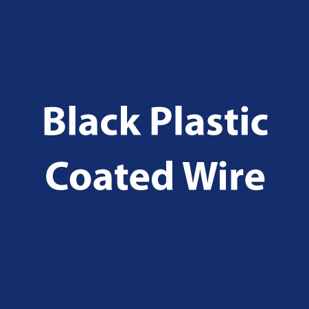 Black-Plastic-Coated-Wire