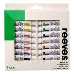 Reeves Acrylic set of 18