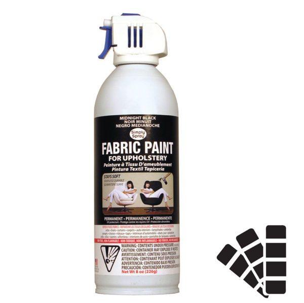 Upholstery Spray – Midnight Black