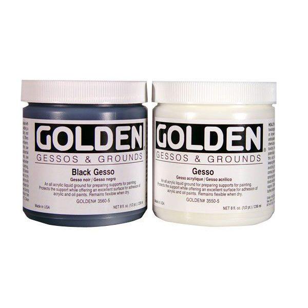 Golden Gessos Grounds Cavalier Art Supplies