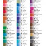 Maimeri Blu colour chart 2