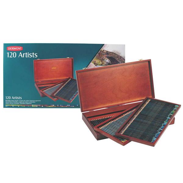 Derwent Coloursoft Pencils Wooden Box Sets
