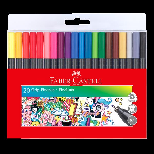 Faber Grip Fine Pen 20