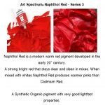 Art Spectrum New Colours- Napthol Red