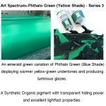 Art Spectrum New Colours- Phthalo Green (Yellow Shade)