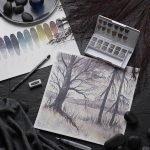 Derwent Graphitint Paint Pan Set 2
