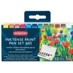 Derwent Inktense Paint Pan Travel Set #2 1