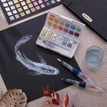 Derwent Metallic Paint Pan Set 1